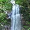 不動の滝・天狗岩
